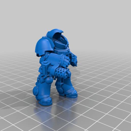 Aggressor_5_Body.png Download free STL file Flame Armed Instigators • 3D printable template, danny_cyanide