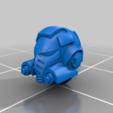Aggressor_helmet_V2.png Download free STL file Flame Armed Instigators • 3D printable template, danny_cyanide