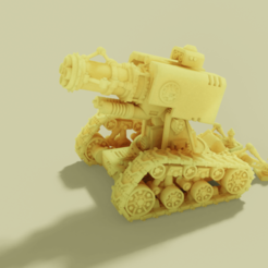 thunderfire_render.png Download free STL file Cannon of Fire and Thunder • 3D printable template, danny_cyanide