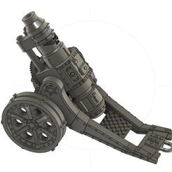 Descargar Modelos 3D para imprimir gratis Heavy Lobbing Cannon of Doom!!!!!!!, danny_cyanide