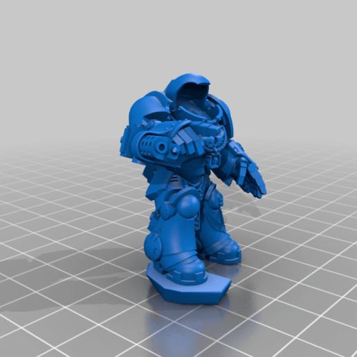 Sgt_2_Body.png Download free STL file Flame Armed Instigators • 3D printable template, danny_cyanide