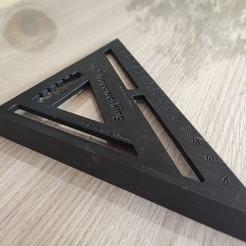 Download 3D printing designs Carpenter Square / Carpenter's Square, yannrolland