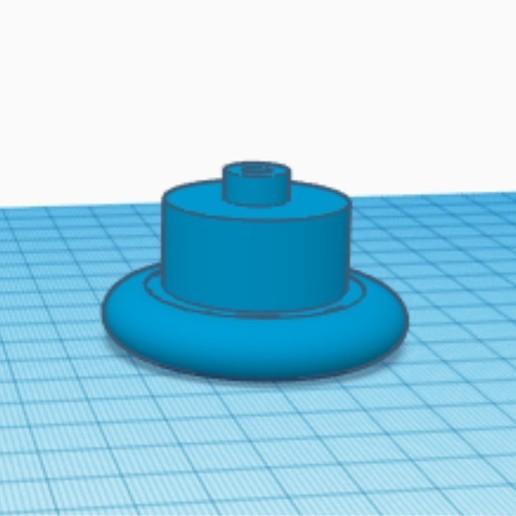 Download free 3D printing designs Toilet flush button free fingers, juanrobles156