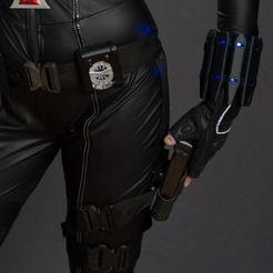 Descargar modelo 3D gratis Kit Vengadores Viuda Negra, LucasLabrador