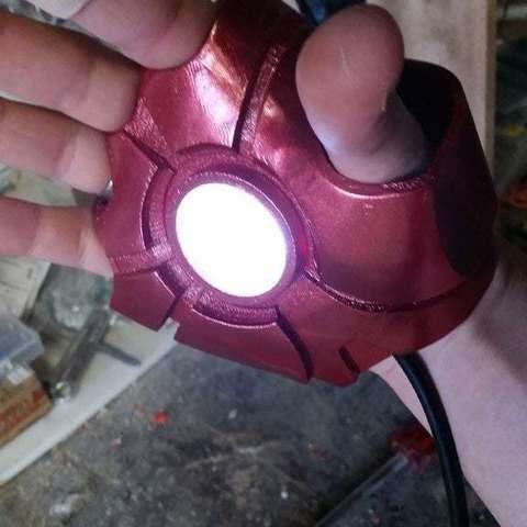 Download Free 3d Model Iron Man Mk6 Mk 6 Glove Hand With