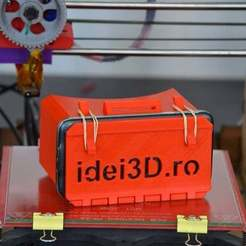 Download free 3D printer designs Cardboard VR easy to print easy to assemble, Yalahst