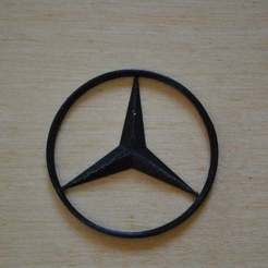 DSC_0025_display_large.jpg Download free STL file Mercedes logo • 3D printable template, Yalahst