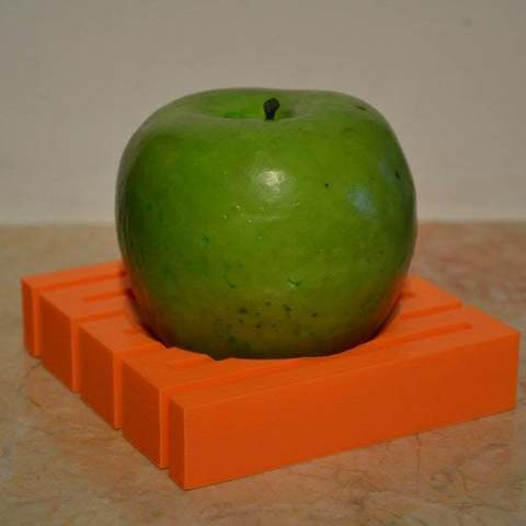 Free STL files Flexible one apple, orange bowl, Yalahst