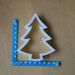 Free 3D model Christmas tree cookie cutter. Really nice as a decoration as well., Yalahst