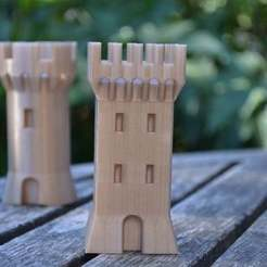 Download free 3D printing templates Square Tower, Yalahst