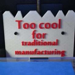 Télécharger fichier imprimante 3D gratuit Pièce Makerbot, Yalahst