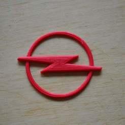 Free STL Opel logo, Yalahst