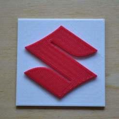 Descargar diseños 3D gratis El bonito logo de Suzuki, Yalahst
