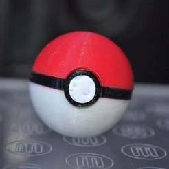 Download free 3D printing templates Pokemon ball, Yalahst