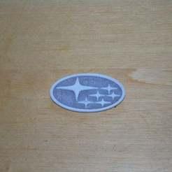 Descargar archivos 3D gratis Logotipo Subaru, Yalahst