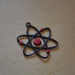Télécharger STL gratuit Atome, Yalahst