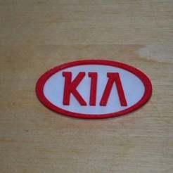 Descargar archivos STL gratis Logotipo Kia (motores), Yalahst
