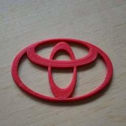 Free STL Toyota logo, Yalahst