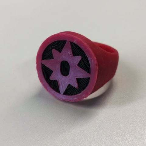 Download free 3D printing files Sapphire Lantern Ring for Dual Extrusion, niceandeasy