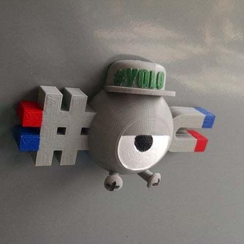 Free 3D printer files Swagnemite, niceandeasy