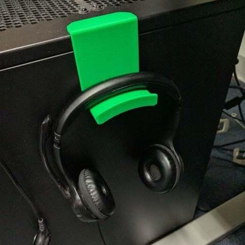 Descargar modelos 3D gratis Colgador de auriculares, niceandeasy