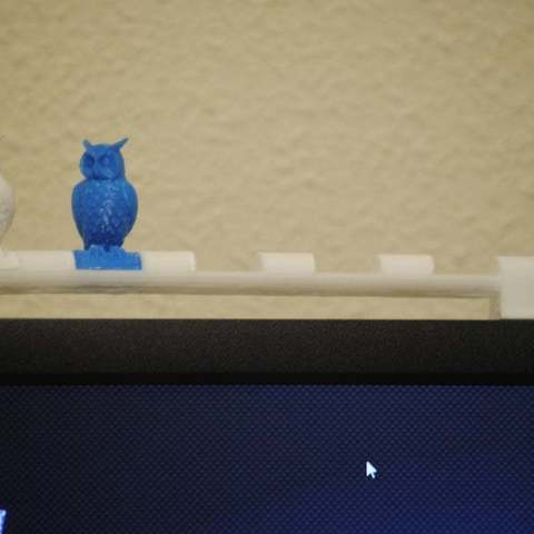 Download free 3D printer files Owl Stand, niceandeasy