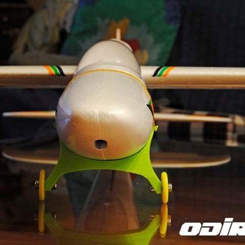 2_display_large.jpg Télécharger fichier STL gratuit Train d'atterrissage et roues amovibles pour Bixler 2 • Objet imprimable en 3D, niceandeasy