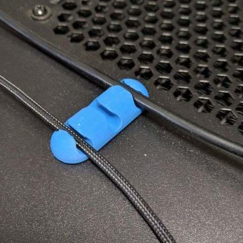 f03443d359ecfbd7e5360951f10ad8df_display_large.jpg Télécharger fichier STL gratuit Clip de câble • Objet pour impression 3D, niceandeasy