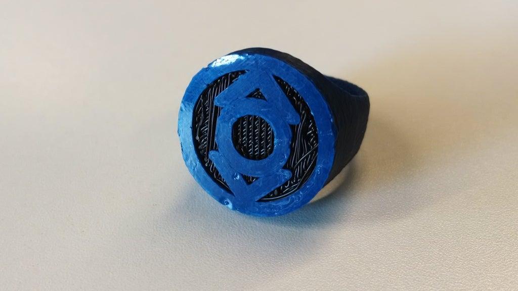 IMG_20140617_150226577_display_large.jpg Download free STL file Indigo Lantern Ring for Dual Extrusion • 3D print model, niceandeasy