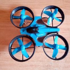 IMG_20190918_175436.jpg Télécharger fichier STL Drone JJRC H36 • Modèle imprimable en 3D, gonzalopepsi