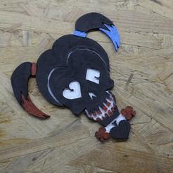 Descargar Modelos 3D para imprimir gratis Harley Quinn (Escuadrón de Suicidio), 3D-Dachs