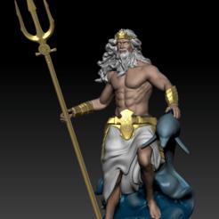 poseidon 1.png Download STL file Poseidon • 3D printable template, dsviega