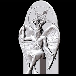 Download 3D printer files Baphomet, dsviega