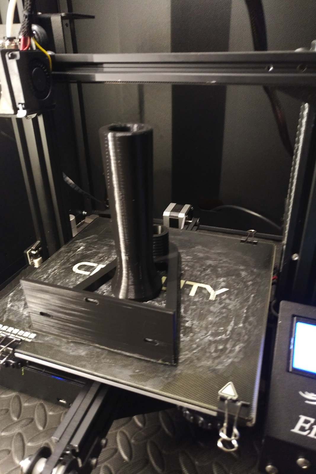 JG-spholder-printed.jpg Télécharger fichier STL gratuit JGAurora spoolholder v2 (mis à jour) • Plan à imprimer en 3D, TimBauer-TB3Dprint