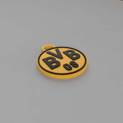 BVB_Ornament_2020-Dec-22_11-32-32AM-000_CustomizedView52850378775.png Download free STL file BVB ornament, fan deko • Template to 3D print, TimBauer-TB3Dprint