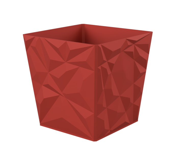 edge_Flowerpot1.png Download free STL file Edgy Flowerpot • 3D printing design, TimBauer-TB3Dprint