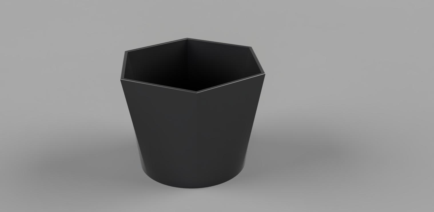 Blumentops_klein_2020-Jun-21_05-24-55PM-000_CustomizedView10632395503.jpg Download free STL file flowerpot six to round • Design to 3D print, TimBauer-TB3Dprint