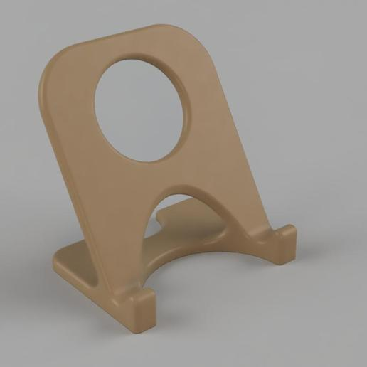 simple_phone_stand.jpg Download free STL file Phone Stand • Model to 3D print, TimBauer-TB3Dprint