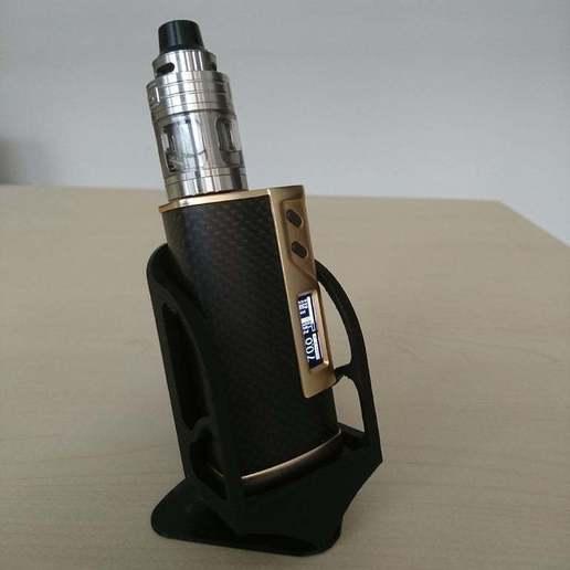 TB3Dprint2.JPG Download free STL file E cigarette stand • 3D printable model, TimBauer-TB3Dprint