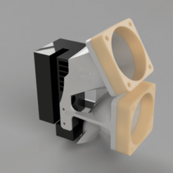 Download free 3D model JGAurora cooler / fanmount, TimBauer-TB3Dprint