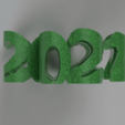 Klee2021-2.png Download free STL file Shamrock 2021 • 3D printable template, TimBauer-TB3Dprint