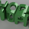 hope2021_2020-Dec-26_08-46-44PM-000_CustomizedView23901587415.png Download free STL file HOPE 2021 • Design to 3D print, TimBauer-TB3Dprint