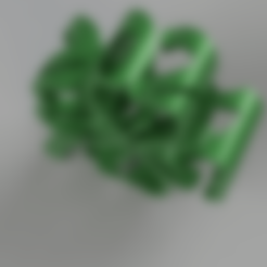 Klee2021.stl Download free STL file Shamrock 2021 • 3D printable template, TimBauer-TB3Dprint