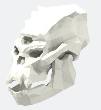 skull.jpg Download free OBJ file Skull of Troll • 3D print design, stanx974