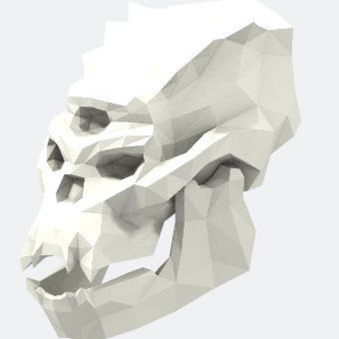 Free Skull of Troll STL file, stanx974