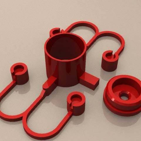 Télécharger fichier imprimante 3D gratuit Bouton d'alimentation pour PC de bureau Medion, KarmaPrinting