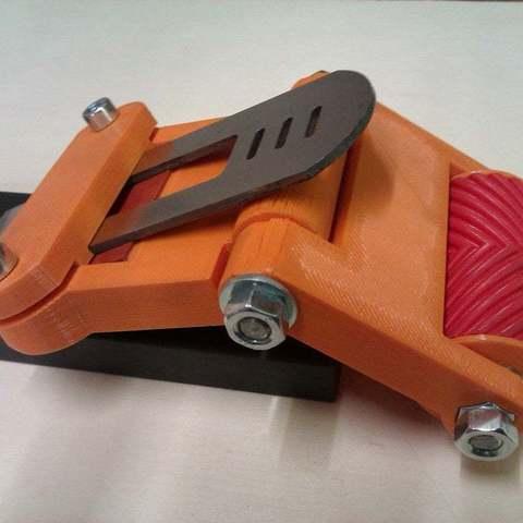 Free 3D printer model Chisel / Plane Honing / Sharpening Jig, KarmaPrinting