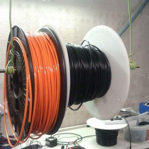 Download free 3D printing files Most simple spool holder ever, KarmaPrinting