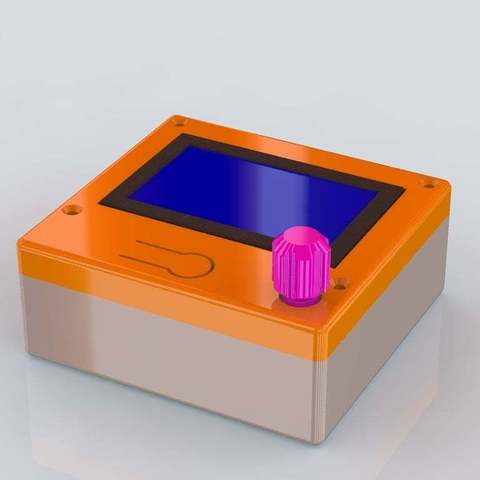 Free STL files Smart LCD Full Graphic  Controller case, KarmaPrinting