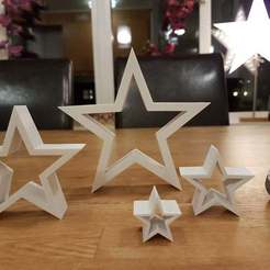 Download free 3D printer model Christmas star, KarmaPrinting